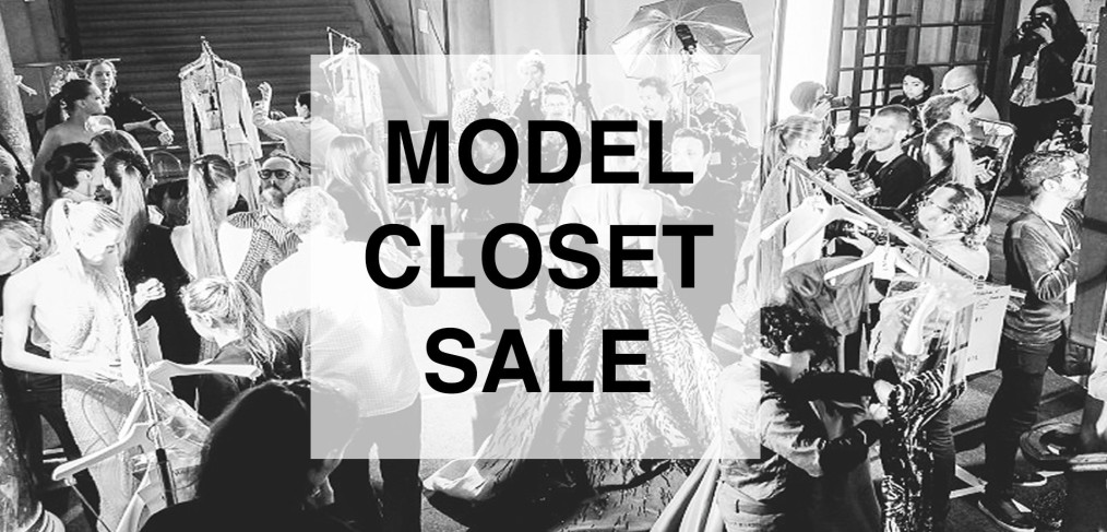 MODEL CLOSET SALE pop-up