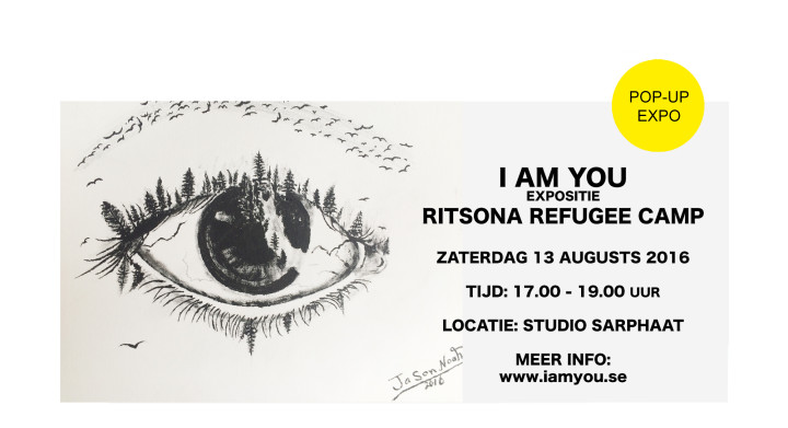 IAMYOU pop-up expositie in Studio Sarphaat