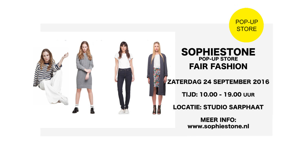 SOPHIE STONE pop-up store in studio sarphaat