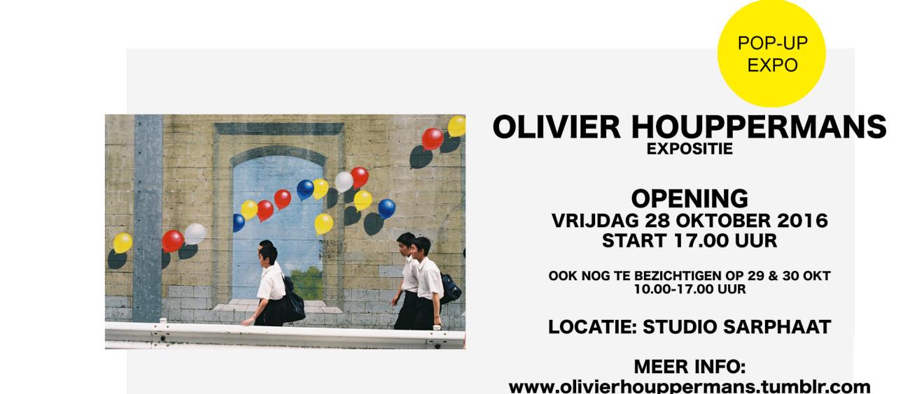 OLIVIER HOUPPERMANS pop-up expositie in Studio Sarphaat